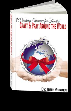 Craft & Pray Around the World Book #christmas #bible #craftsforkids #kidsactivities