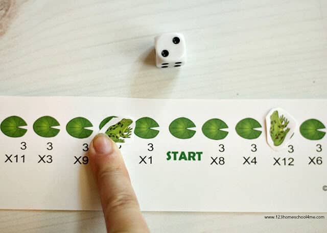 super cute free multiplication game for grade 3 math, grade 4 math, grade 5 math