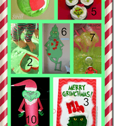Grinch Crafts and Activities
