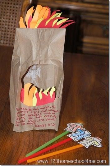 Fiery Furnace Bible Craft For Kids 123 Homeschool 4 Me