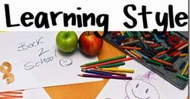 Learn your Child's Learning Style