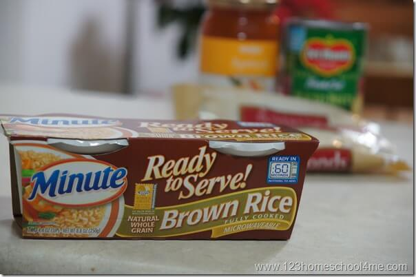 Minute Ready to Serve Rice Recipe