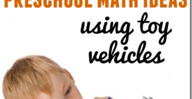 Teach Preschool Math with Cars