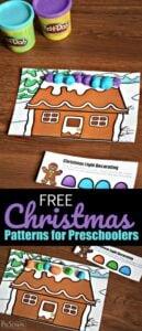 Christmas Patterns Activity