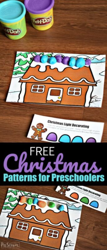 Christmas Patterns Activity