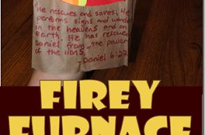 Fiery Furnace Bible Craft for Kids