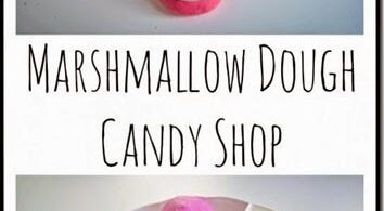 Marshmallow Playdough Recipe