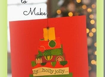 Simple Christmas Cards Kids can Make