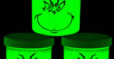 glowing grinch slime