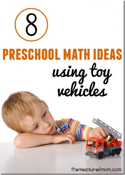 preschool math with cars - Boys will love learning math with these fun car math games