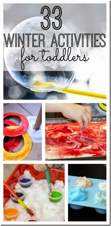 33 Winter Activities for Toddlers - so many fun, creative, and unique ideas for a fun winter theme!