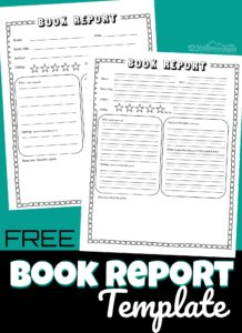 Help students learn to give a good summary of a book with this FREE printablebook reporttemplate. This book report form is a great resource for parents, teachers, and homeschoolers of kindergarteners, first grade, 2nd grade, 3rd grade, 4th grade, and 5th grade children.