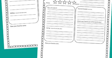 Help students learn to give a good summary of a book with this FREE printable book report template. This book report form is a great resource for parents, teachers, and homeschoolers of kindergarteners, first grade, 2nd grade, 3rd grade, 4th grade, and 5th grade children.