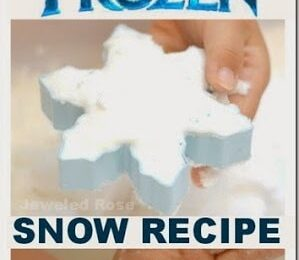 Disney Frozen Snow Recipe for Play