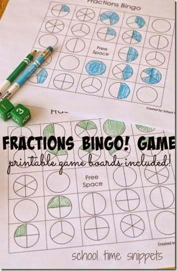 graphic regarding Fraction Bingo Printable named Free of charge Fractions BINGO Recreation 123 Homeschool 4 Me