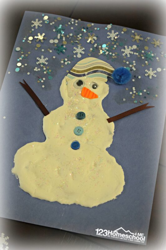 cute-snowman-craft-for-kids