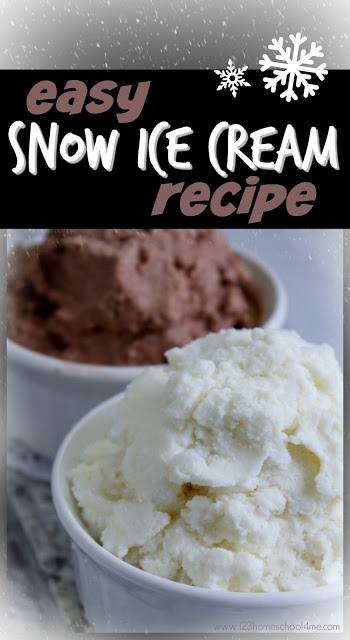 EASY Snow Ice Cream Recipe - this is a simple, 3 ingredient snow ice cream recipe that uses snow to make the most delicious, creamy, and easy ice cream. This is a WONDERFUL winter activity for kids and families. YUMMY! Make the next snow day an outrageously FUN day by making your ownhomemade snow ice cream with your toddler, preschool, pre-k, kindergarten, first grade, 2nd grade, 3rd grade, 4th grade, and kids of all ages.