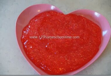 Red Hot Valentines Day Slime