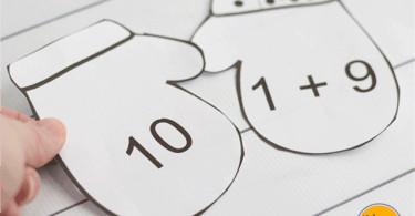 Kindergarten-Math-Mitten-Match-Activity