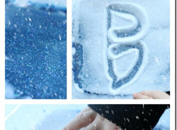 Frozen Snow and Ice Writing FUN