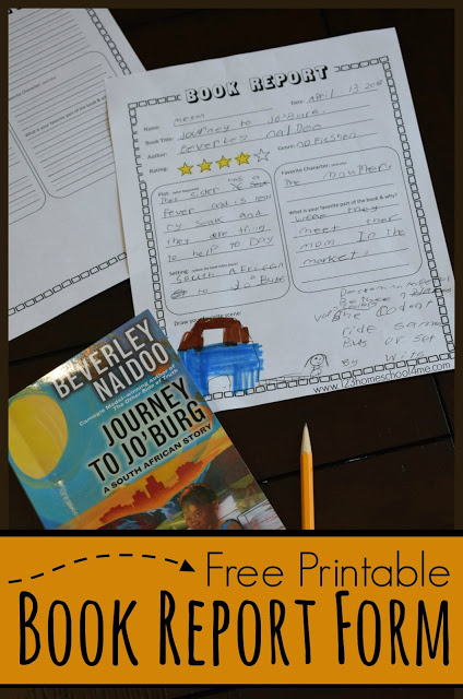 FREE Book Report - This free printable book report form is perfect for helping ensure kids have good reading comprehension in first grade, 2nd,3rd,4th,and 5th grade students. This is perfect for summer reading, book clubs, reading programs, libraries, homeschool, and more #bookreport #homeschooling #bookreports
