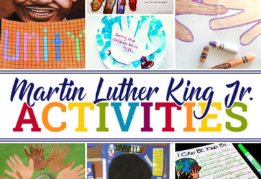 These Martin Luther King Jr. activities, martin luther king activities for preschool, martin luther king crafts for kids, and lots of mart luther king day ideas will have  kids learning all about this great man and the things he stood for.