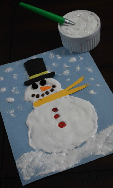 Amazing Puffy Snow Paint Recipe