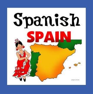home school Spanish free printable for tot preschool and kindergarten