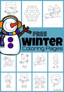 Kids will have fun decorating these super cute, winter coloring pages with crayons, markers, and colored pencils! From snowmen, penguins, snowballs, sledding, and more - we've got lots of fun winter coloring sheets to choose from. Simply download pdf file withfree winter coloring sheets for toddler, preschool, pre-k, kindergarten, first grade, and 2nd grade students to colour this December, January, and February.