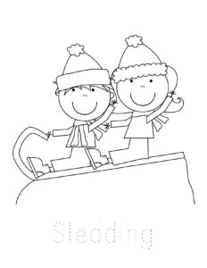❄️ FREE Winter Coloring Pages