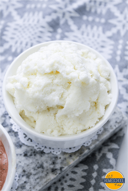 yummy homemade ice cream recipe using snow