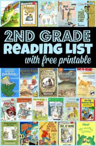 Are you trying to figure out what books should be on your second grade reading list? We've done all the work for you and compiled the best books for your 2nd grade reading list with a free printable. Here are over 40 must read books for your 2nd grade book list that your child will love; arranged conveniently by book level. Simply download pdf file with2nd grade reading list printable and you are ready to head to the library to get your books!
