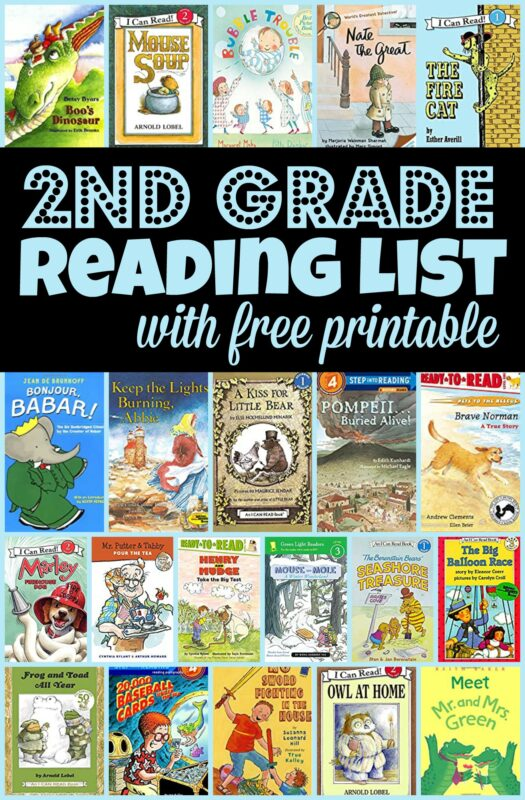 BEST 2nd Grade Reading List