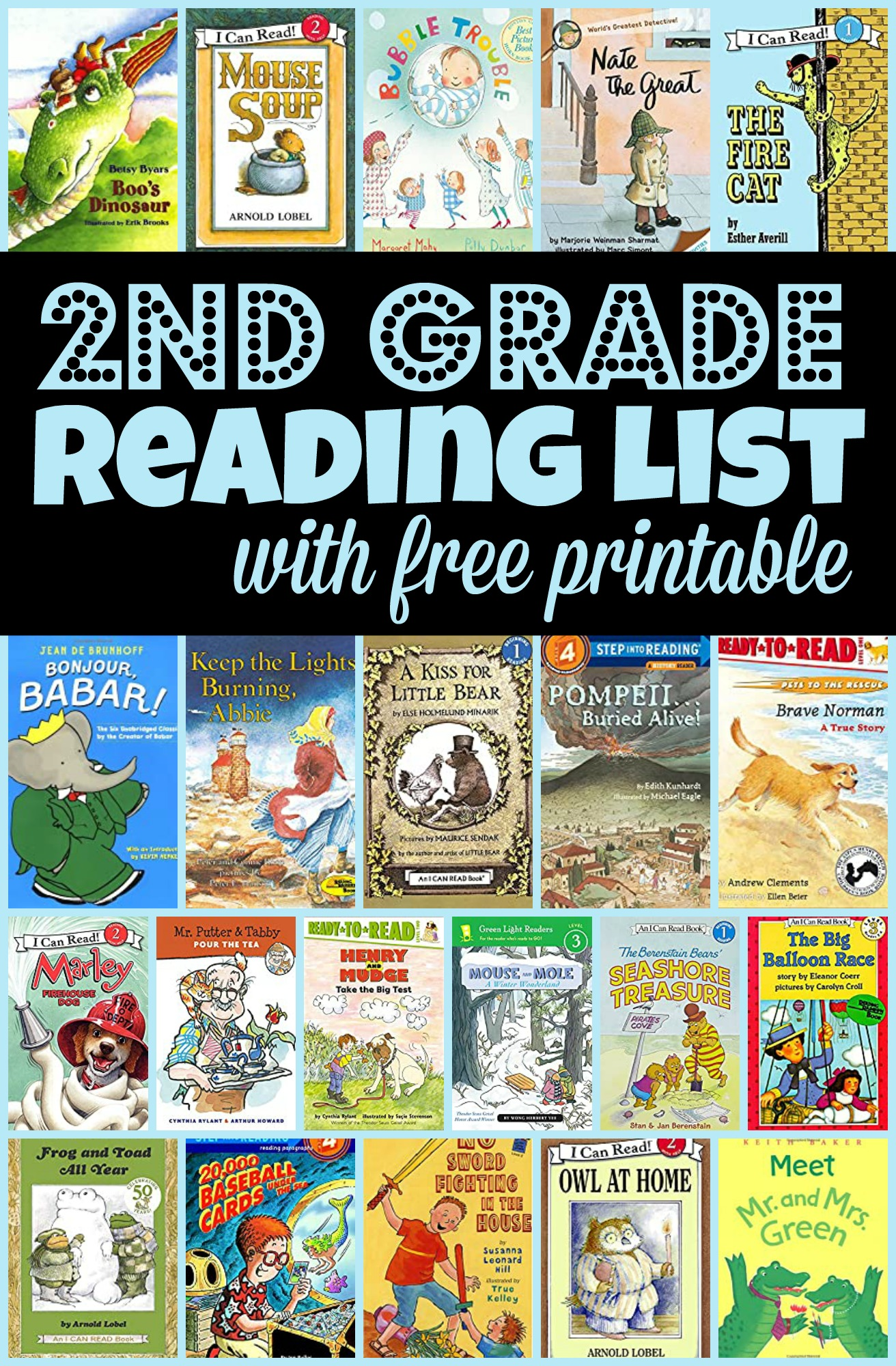 good books for second grade book reports