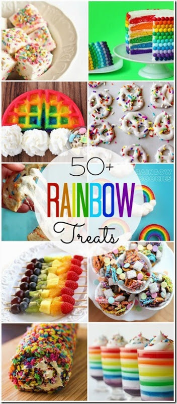 50 rainbow treats for kids in spring st. patrick's day