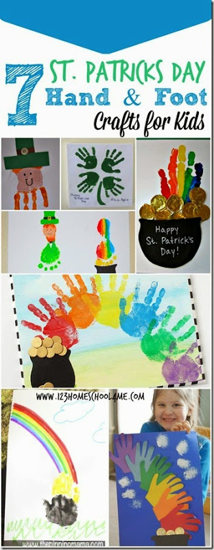 This week I am sharing 13 fun St Patricks Day Crafts for Kids to inspire you to play with your kids this March. These adorable st patrick art and craft are perfect for toddler, preschool, and pre-k to kindergarten and elementary age students too. So grab some paint, paper, and start making one of these cutest patrick's day art.The hardest part is deciding whichst patrick day crafts to maker first!