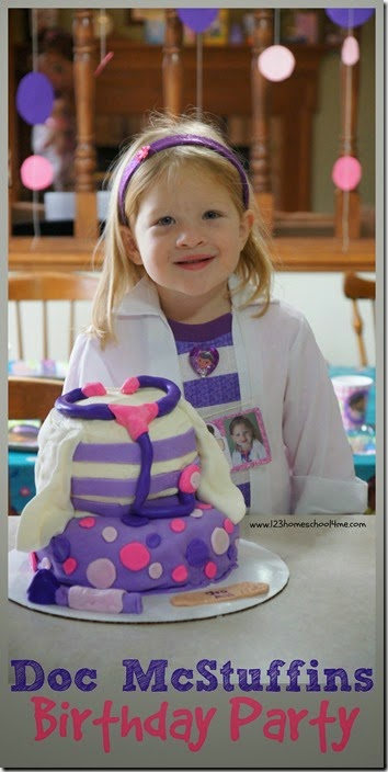 Doc Mcstuffins Birthday Party Ideas for Preschoolers. Tons of creative games, party decorations, Disney Doc McStuffins cake,and more! #birthdayparty #birthdaytheme #docmcstuffins
