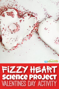 Sneak someValentines Day Science into your valentines day theme with this fun and easyheart science project. Whether your child is a toddler, preschool, pre-k, kindergarten, or first grader - they will love this simplebaking soda experiment with a fun twist for February 14th. So add thisValentines Day Activities for Kids to your plans and make learning FUN!