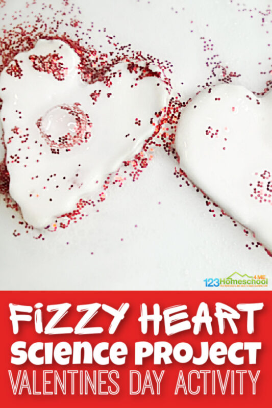 Sneak some Valentines Day Science into your valentines day theme with this fun and easy heart science project. Whether your child is a toddler, preschool, pre-k, kindergarten, or first grader - they will love this simple baking soda experiment with a fun twist for February 14th. So add this Valentines Day Activities for Kids to your plans and make learning FUN!