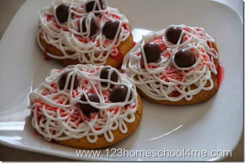 Spaghetti and Meatballs Cookies