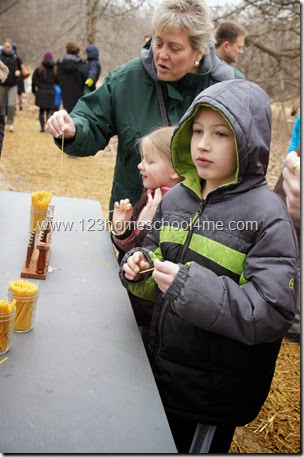 Homeschool Fieldtrip - How to make maple syrup