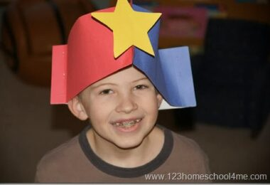 Tricorn Hat to Make for Presidents Day