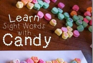 Valentines Day Sight Word Activity