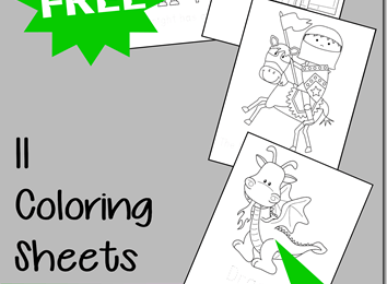 Tons Of Free Coloring Sheets For Kids