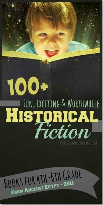 Historical Fiction for Kids Arranged by Time Period