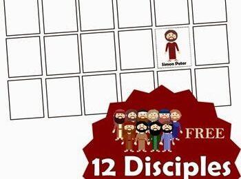 12 Disciples Memory Game