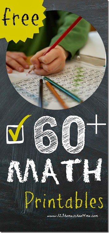 60 math printables