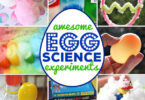 Get ready for some fun Easter experiments for kids with theseegg science experiments for kids of all ages. These EASY Egg science ideas are such FUN!