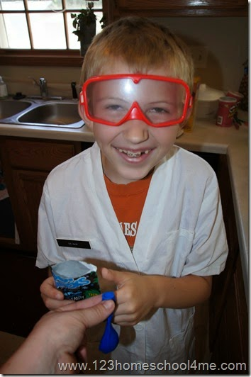 Homeschool Science is FUN!