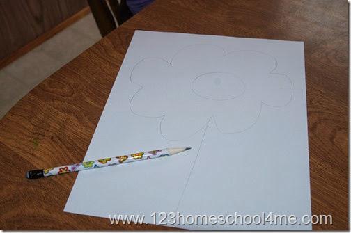 Simple Spring Craft for Toddlers, Preschoolers, Kindergarten